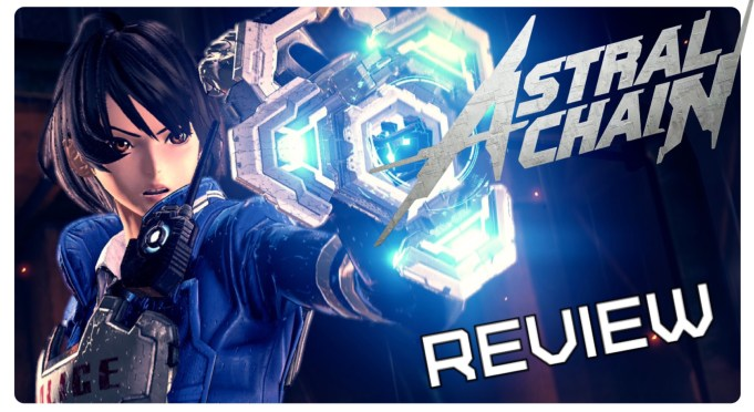 in-game screenshot of Astral Chain player character
