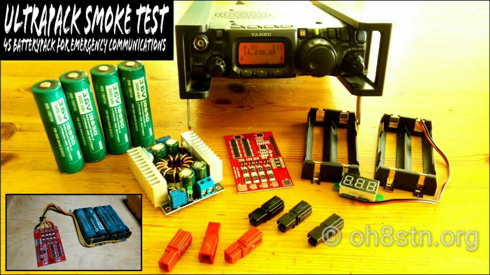 DIY 3/4S Li-Ion QRP Battery Pack