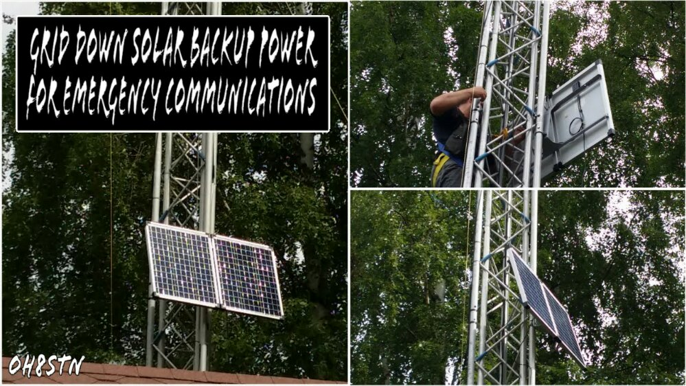Solar Power for Ham Radio
