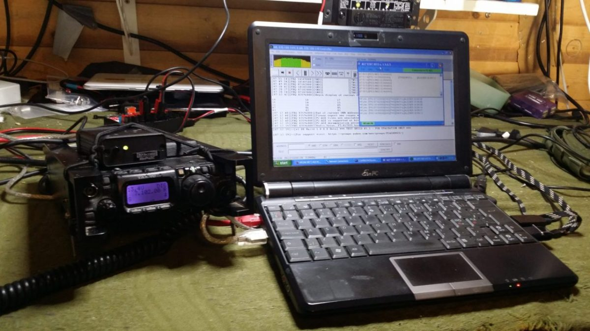 Testing ALE PCALE on the Yaesu FT-817ND