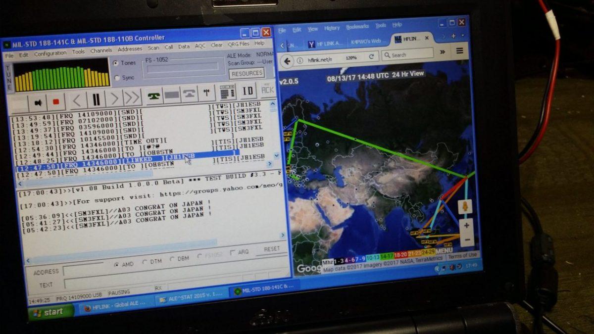 ALE Link-Up Japan Finland 20M
