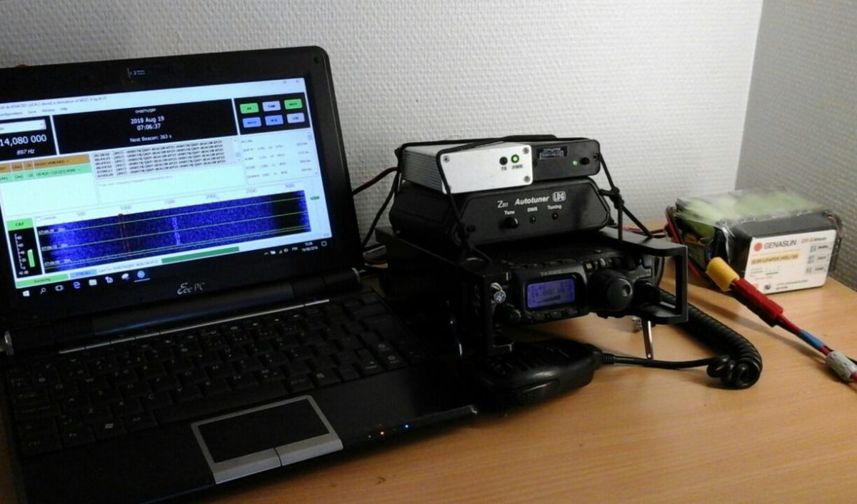 QRP Experiment with JS8Call FT8Call