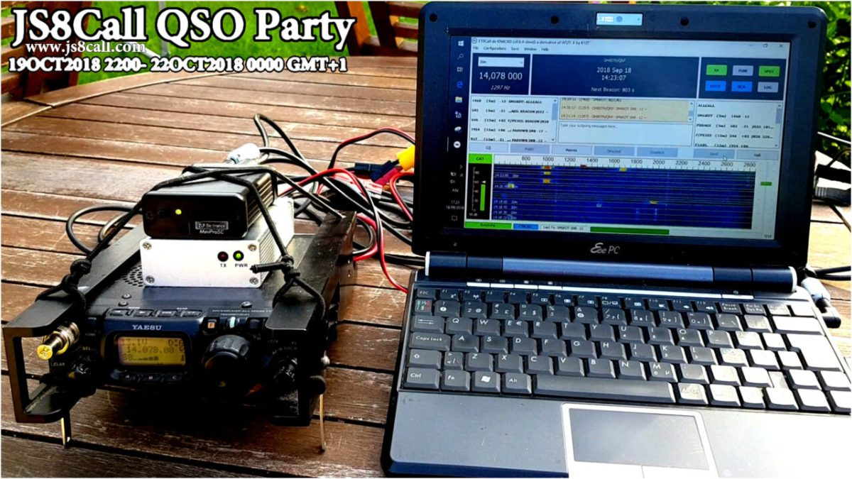 JS8Call JS8 On Air Party
