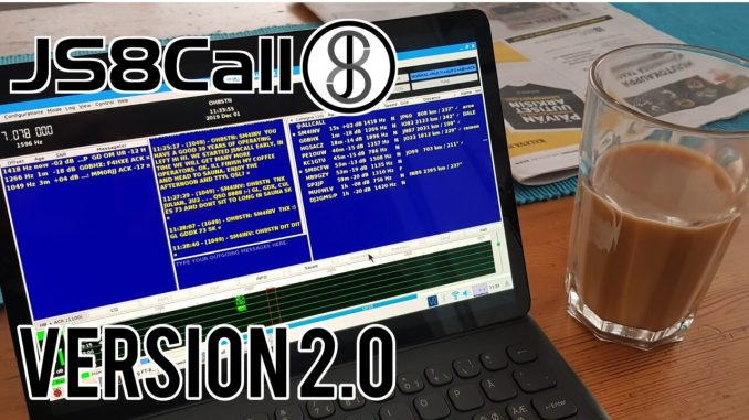 JS8Call Version 2.0 Released