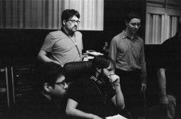 Dan Weiss Recording with Miles Okazaki & Thomas Morgan