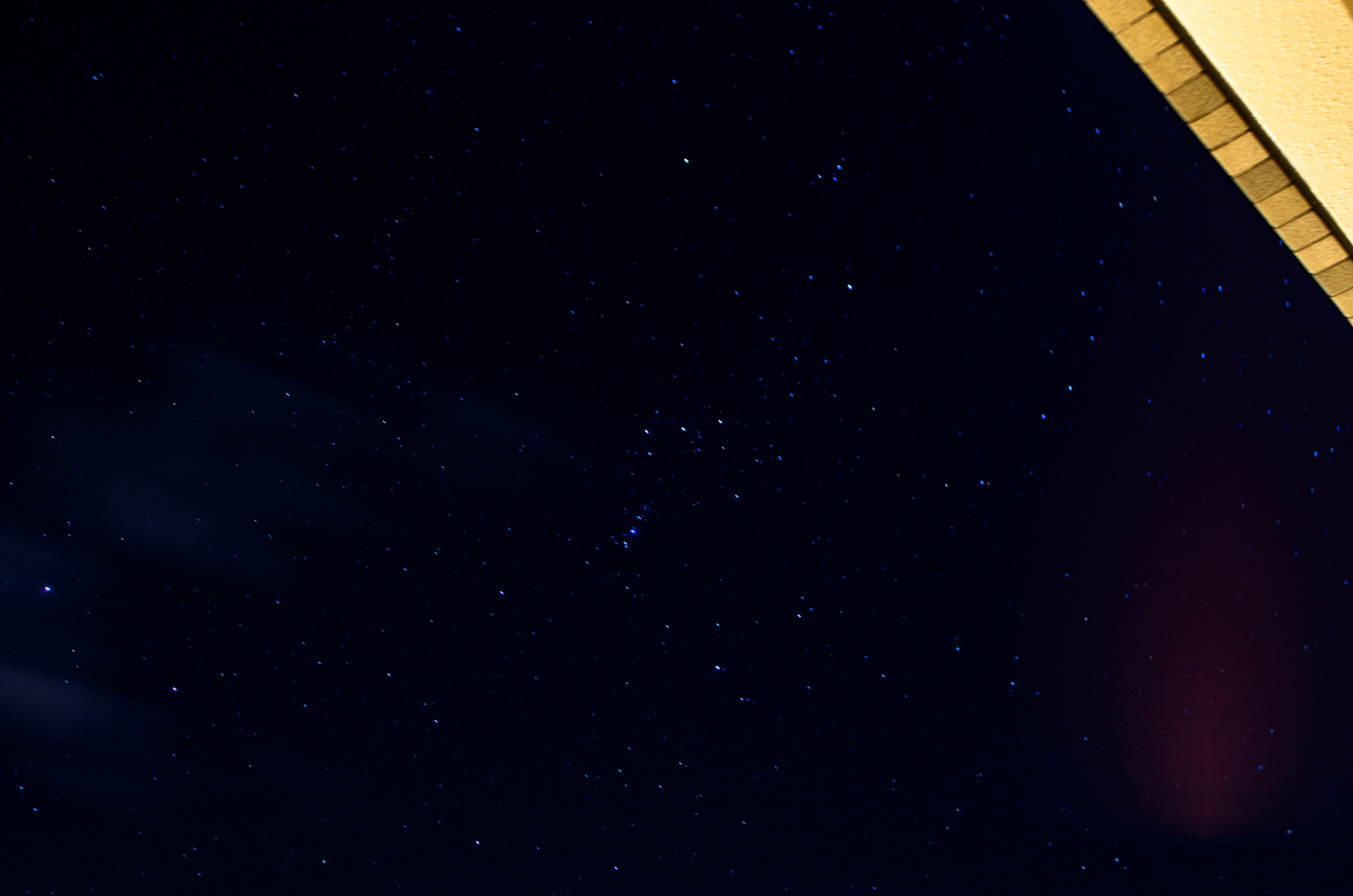 PENTAXでベランダ天体写真
