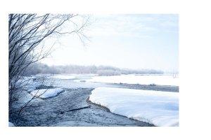樹氷がキレイな季節は終わりそう