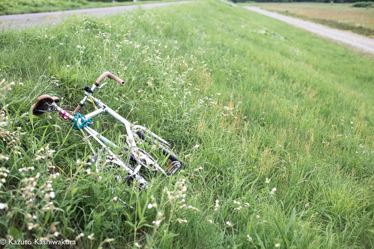 自転車で25キロ走っただけでヘロヘロだった