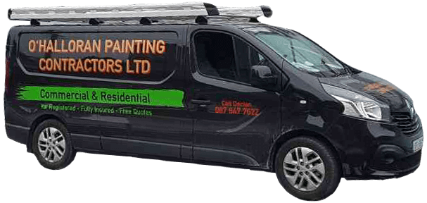 Painting and decorating van