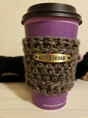 coffee sweaters are a great way to use up small batches of yarn