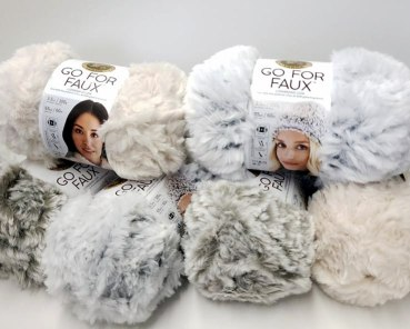Lion Brand go for faux yarn