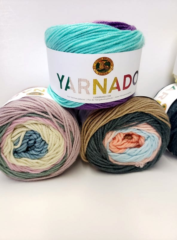 Lion Brand Yarn Order - The 'Ohana Boutique