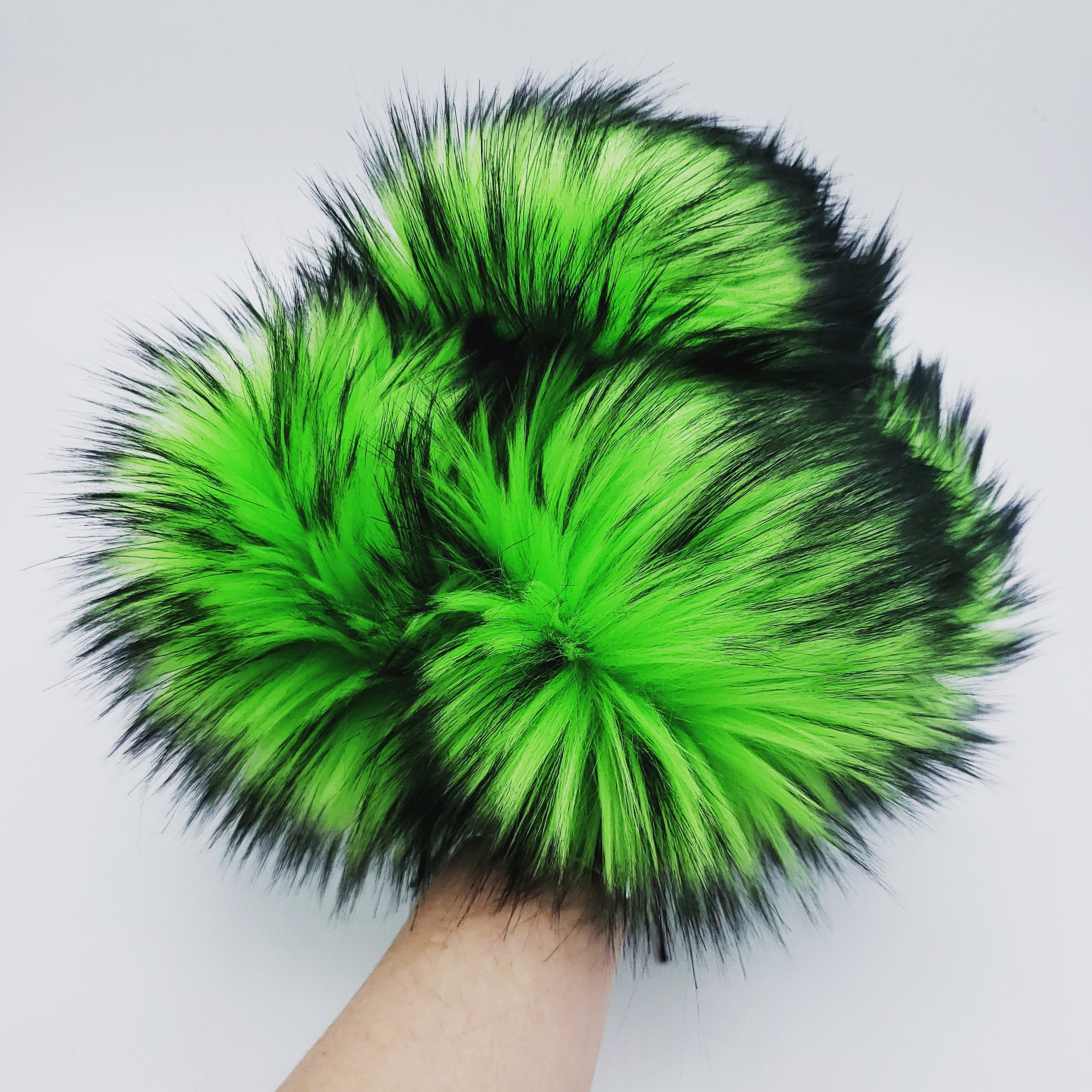 Electric Shamrock Pom Pom Launch
