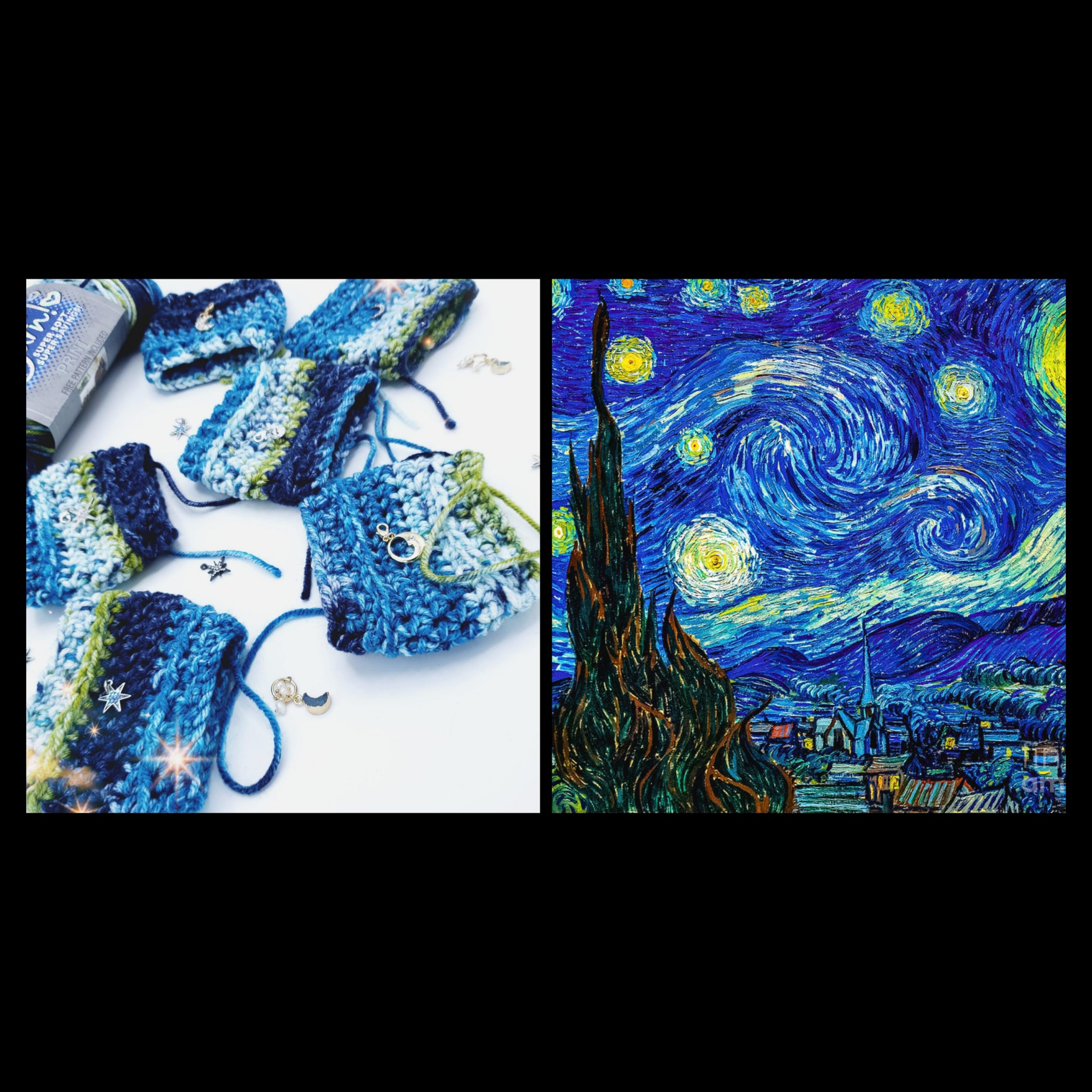 Starry Night Coffee Sweaters – Free Pattern