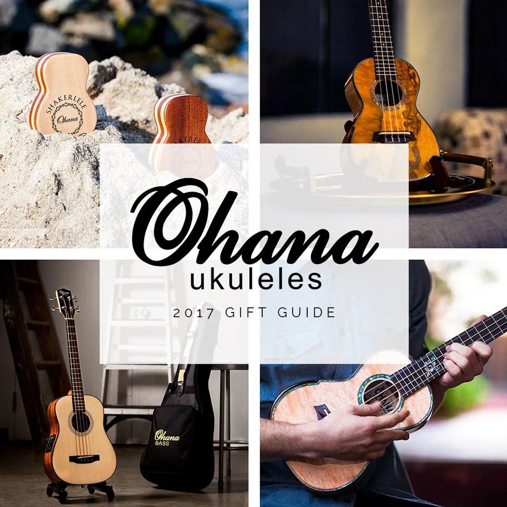 ohana ukulele gift guide