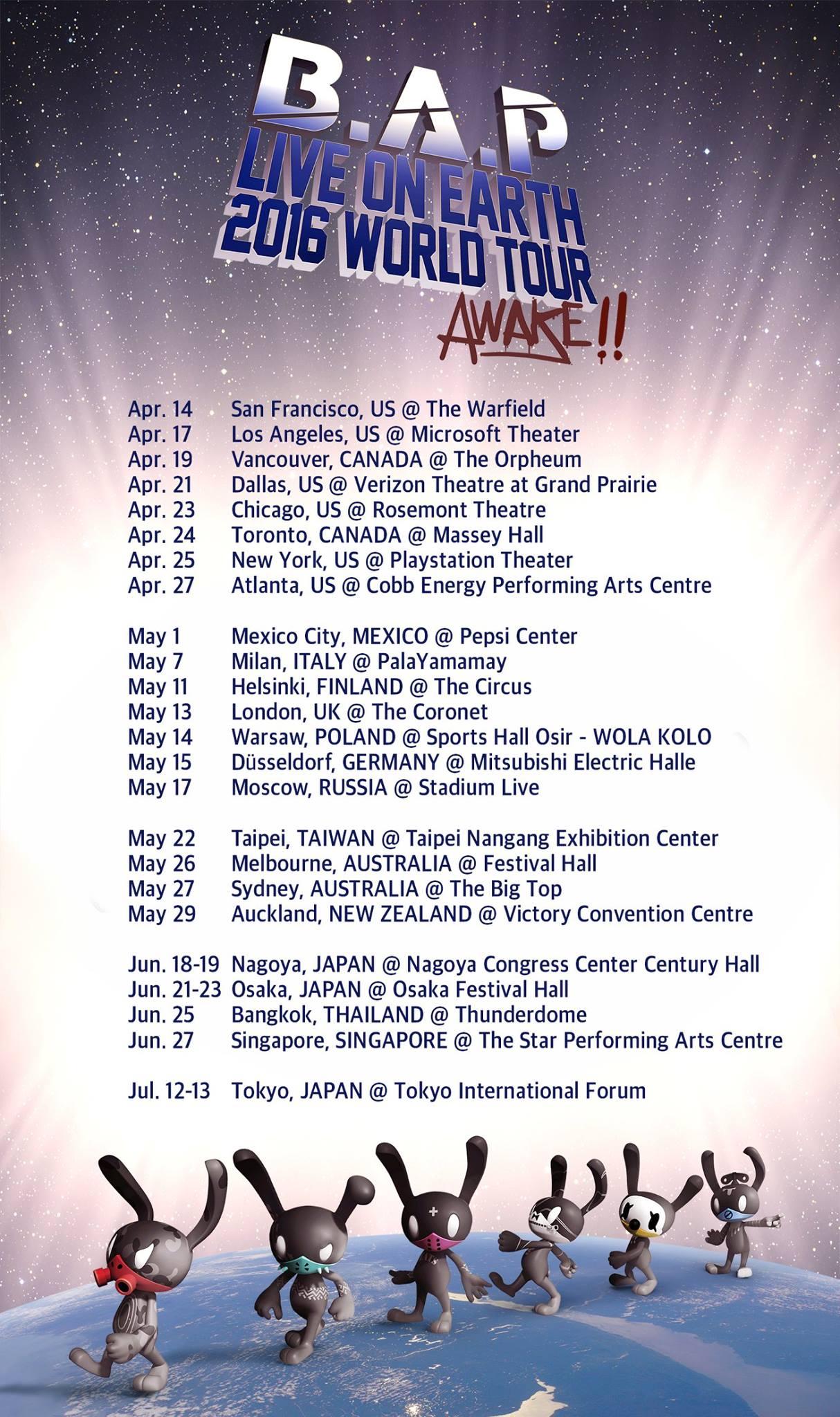 B.A.P.Tour2016