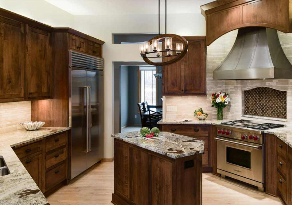 Lukewood KitchenChanhassen  Ohana Construction  Home
