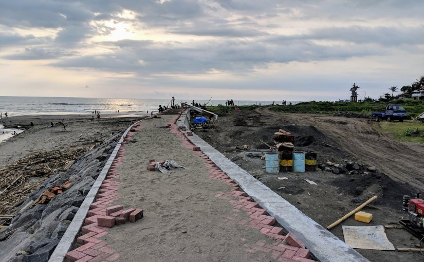 Pererenan Beach Development Continues