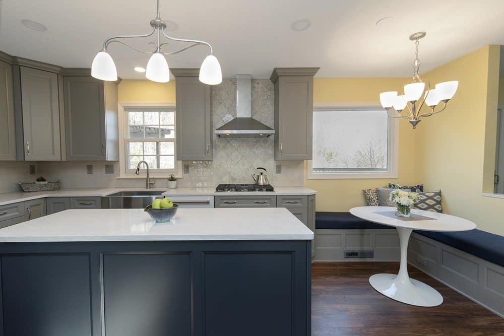 Two-tone Kitchen Remodel - York, PA