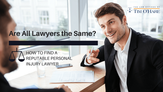 Are All Injury Lawyers the Same?