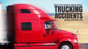 What You Should Know About Trucking Accidents from the Truck Accident Injury Lawyers at O'Hare Law Firm