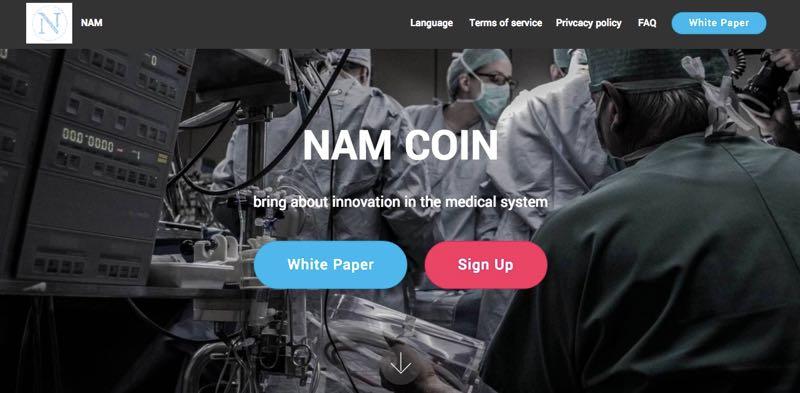NAMプロジェクト NAMコイン エアドロップ
