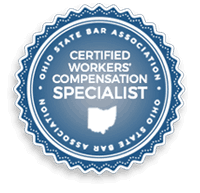 Certified Workers' Compensation Specialists Ohio State Bar Association logo