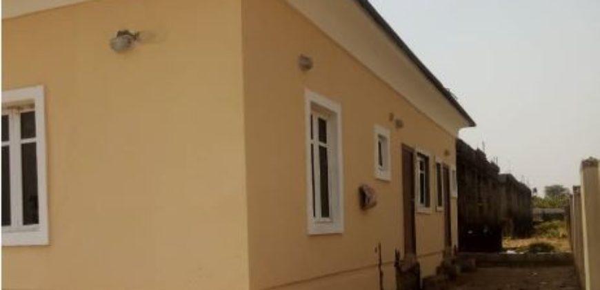 3-Bedroom Detached Bungalow with 1 Room Boys' Quarter