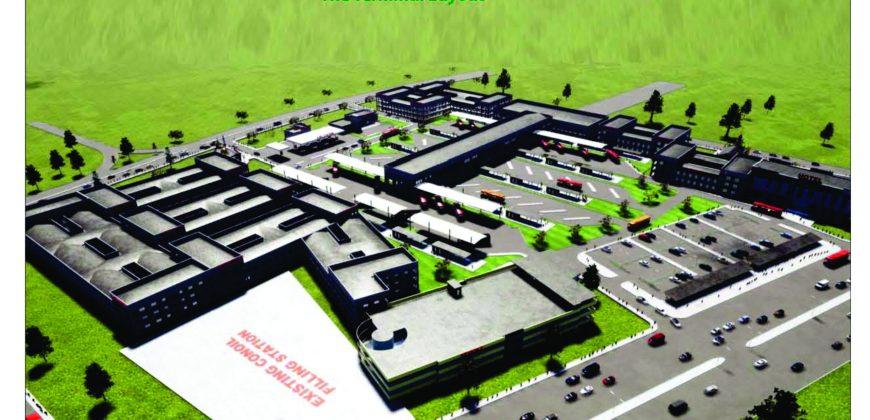 UTAKO BUS TERMINAL ULTRA-MODERN COMMERCIAL VEHICLE STATION FOR SALE
