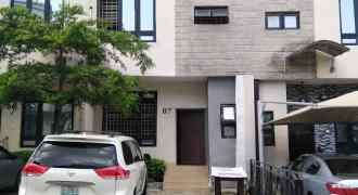 Well finished 4 Bedroom Terrace Duplex + 1 Room Boys' Quarter