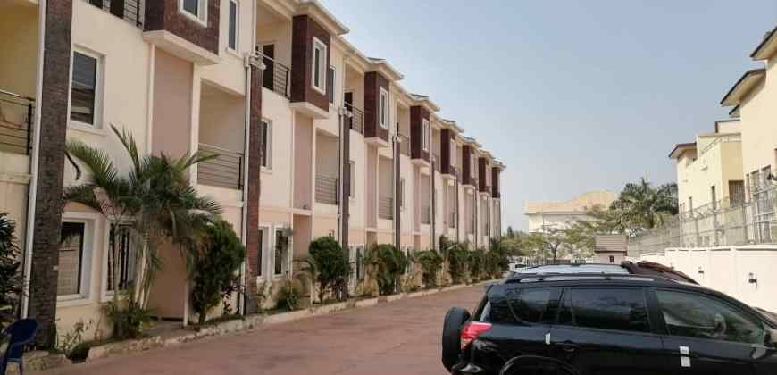 Serviced And Newly Completed 4 Bedroom Terrace Duplex with Boy's Quarter