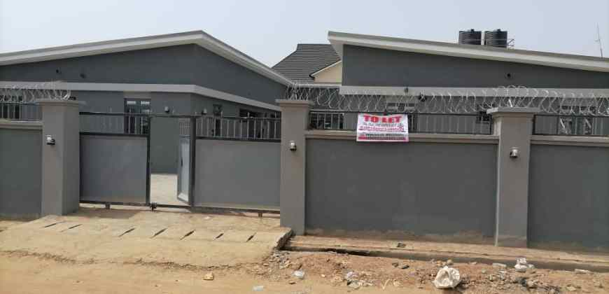 Four (4) Nos. Newly Completed 2Bedroom Semi-Detached Bungalow