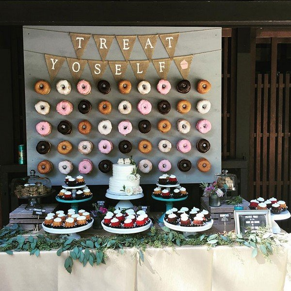 16 Country Rustic Wedding Dessert Table Ideas  Oh Best Day Ever