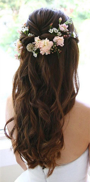 20 Amazing Half Up Half Down Wedding Hairstyle Ideas  Page 2 of 2  Oh Best Day Ever