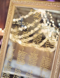 Super elegant mirror wedding seating chart ideas also charts archives oh best day ever rh ohbestdayever