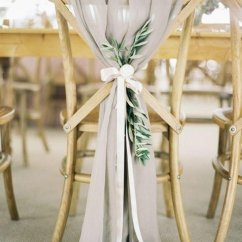 Wedding Decorations Chairs Receptions Sofa Chair Design Nigeria 28 Awesome Decoration Ideas For Ceremony And Reception Chic Rustic Gray Chiffon Greenery
