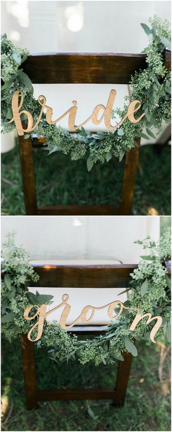 28 Awesome Wedding Chair Decoration Ideas for Ceremony and