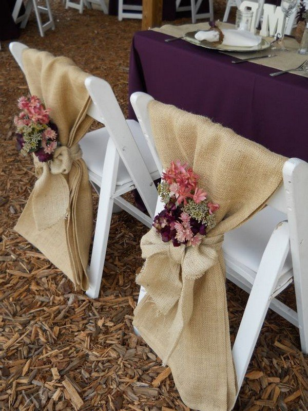 purple chair sashes for weddings drafting chairs with arms 28 awesome wedding decoration ideas ceremony and reception - page 2 of 3 oh best day ...