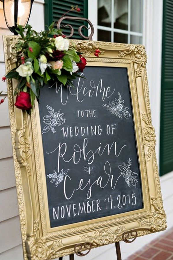 20 Brilliant Wedding Welcome Sign Ideas for Ceremony and Reception  Oh Best Day Ever