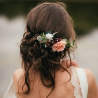 18 Trending Wedding Hairstyles with Flowers - Page 3 of 3 ...