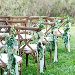 Pink Folding Chair Diy Bean Bag 20 Breathtaking Wedding Aisle Decoration Ideas To Steal - Page 2 Of 3 Oh Best Day Ever