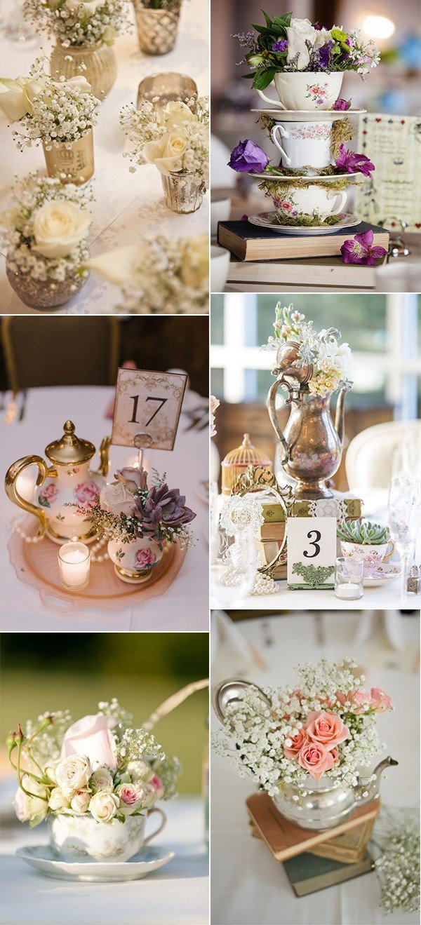 50 Fabulous Vintage Wedding Centerpiece Decoration Ideas  Page 3 of 3  Oh Best Day Ever