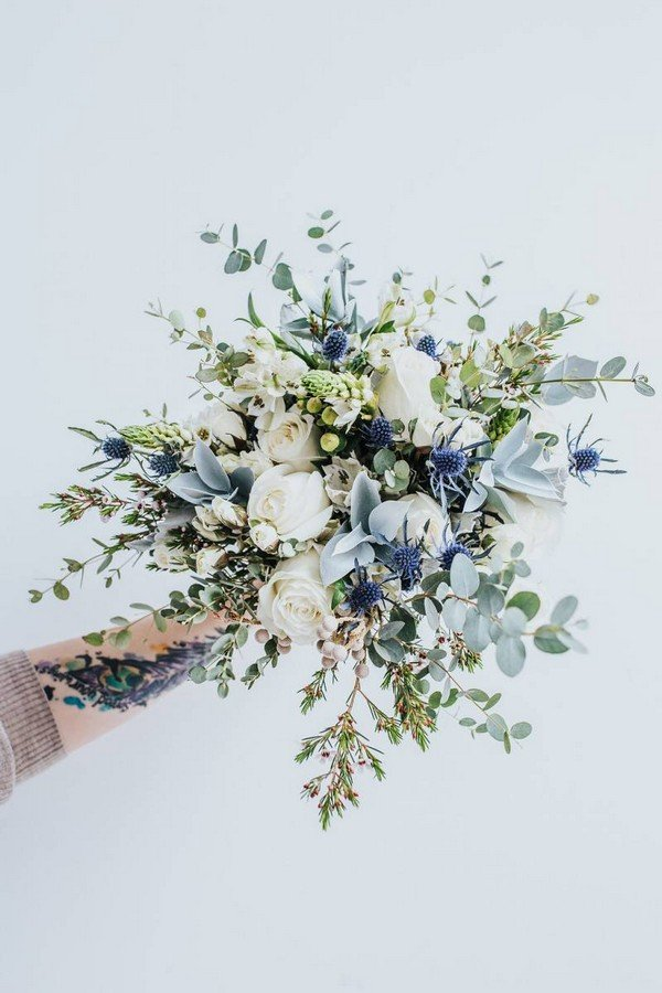 Top 10 White And Green Wedding Bouquet Ideas Youll Love