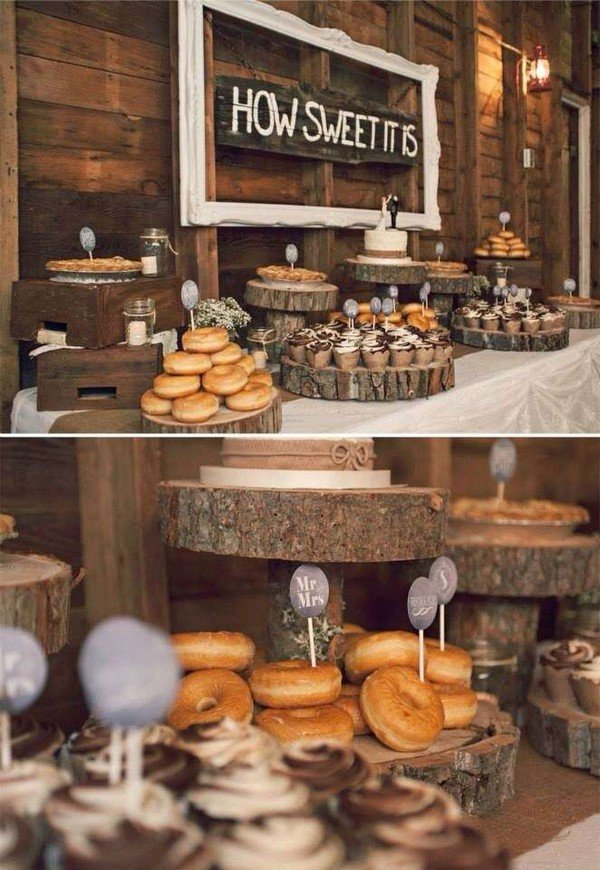 Trending20 Perfect Wedding Donuts Display Ideas  Oh Best