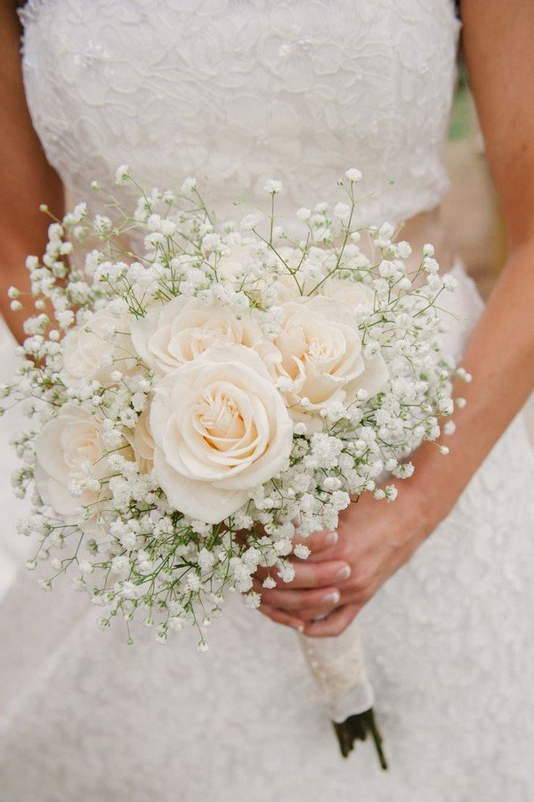 Wedding Flowers32 Babys Breath Wedding Ideas  Oh Best Day Ever