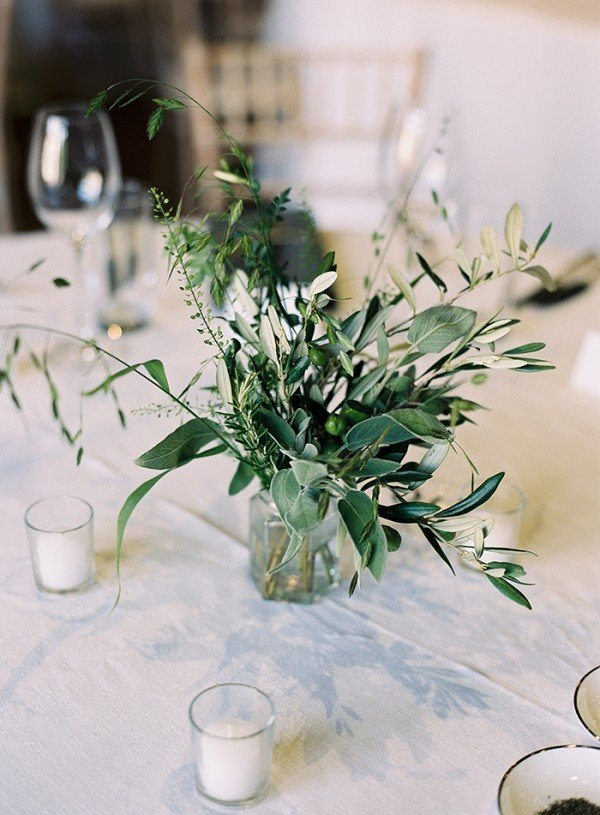 Trending20 Chic White and Green Wedding Centerpiece Ideas  Oh Best Day Ever