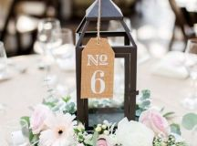 18 Inspiring Wedding Table Number Ideas to Love - Oh Best ...