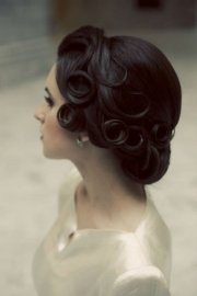 retro wedding hairstyles archives