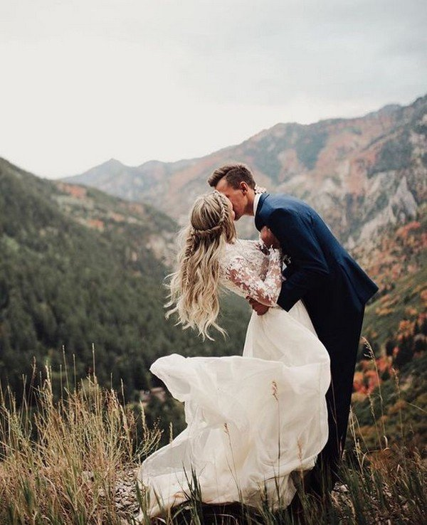 20 Brilliant Ideas To Have A Mountain Wedding Oh Best