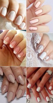 perfect bridal nail design